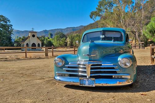 Classic Car Show at Paramount Ranch