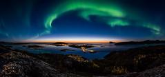 Aurora sunset (mirrormatch) Tags: arctic arcticlight auroraborealis ørnfløy yttersia nordlys coast kvaløya kyst northernlights
