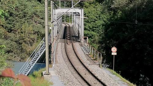 RhB - Farsch Brücke Vorderrhein