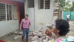 Avanza supervisión de escuelas afectadas por el sismo, en donde los titulares del IEEPO, IOCIFED e INIFED, supervisan personalmente los planteles educativos