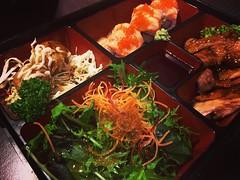 Bento Box Dinner at Origami, Wellington, New Zealand #newzealand #wellington #food #bento #travel (dewelch) Tags: ifttt instagram bento box dinner origami wellington new zealand newzealand food travel