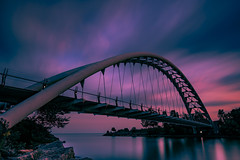Reminds me that there's room to grow (Greg David) Tags: toronto ontario canada ca humber humberbay humberbaypark humberriver humberbridge brid longexposure leefilters 6dmarkii canon sky clouds