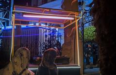 STREET GIFTS IN TUNISIA (Minoroffmonk) Tags: night nightphotography nightshot nighttime tunisia tunisie light blue photography photo photographer phroommagzine pink streetphotography streetpeople streetphoto fujifilm fujixseries fujifeed streetlife streetlight street series city citylights outside town