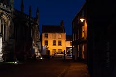 DSC_7371 (Adrian Royle) Tags: lincolnshire louth walk bimble town blue bluehour shops church pub architecture nikon street road spire shop