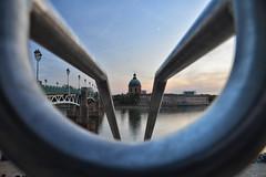 (patdebaz) Tags: toulouse haute garonne dome la grave pont saint pierre paysage reflet reflection nikon d800 pose longue
