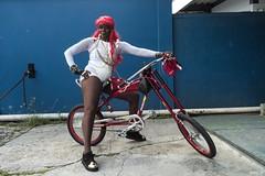 'To define is to limit'- Oscar Wilde. She goes by Black Diamond. Woodbrook, Trinidad.  Leica SL IMG_0159