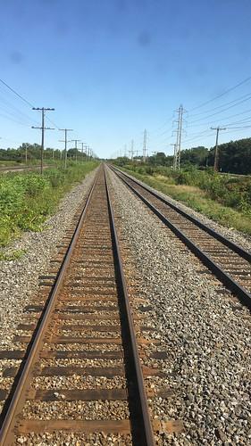 Train track on trip