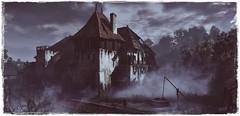 Haunted House (~Scimo~) Tags: nebel geisterhaus düster screenshot tw3 witcher dark fog fantasy sky house haunted