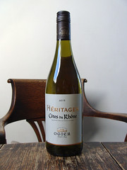 Ogier Heritages Blanc (knightbefore_99) Tags: vin vino wine bottle grape white blanc blanco tasty rhone heritages ogier french france art awesome cool