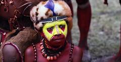 huli wigman boy portrait (kthustler) Tags: goroka singsing papuanewguinea tribes huliwigmen mudmen