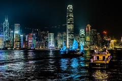 Pirates entering Hongkong Island - Hongkong 64/188 (*Capture the Moment*) Tags: 2017 boat fahrzeugeverkehr hongkong nacht nachtaufnahmen night nightshot panoshot panorama panoramaview panoramablick sailingboat schiffe segelschiff sonya7m2 sonya7mii sonya7mark2 sonya7ii sonyfe2470mmf4zaoss sonyilce7m2 yacht