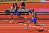 Home Straight (Treflyn) Tags: sprint athletics christian coleman usa great britain gb nethaneel mitchellblake home straight heats mens 4x100m relay 2017 iaaf world championships london stadium