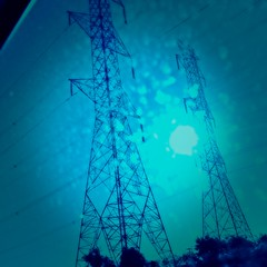#hydro #hydrotowers #electricity #surreal #blue #sublime #trippy #hallucinations #dreams #hydroone #stilllife #art (muchlove2016) Tags: hydro hydrotowers electricity surreal blue sublime trippy hallucinations dreams hydroone stilllife art