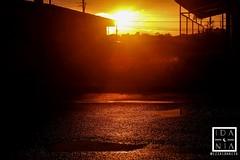 Scent of rain pt.2 (izzaidaniia) Tags: sun sunny tropical rain lluvia orange naranja atardecer sunset