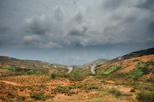 Storm Approaching Chicamocha Canyon, Colombia
