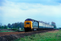 British Rail Class 55 - 55008 (dgh2222) Tags: deltic class 55 east coast main line henwick hall selby north yorkshire