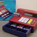GR112, Kassa met geld (rekenmachine)