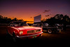 Sunset Drive-In (Nicholas Erwin) Tags: carshow sunsetdrivein sunset sky drivein driveintheater auto car vehicle automobile automotive ford mustang contrast colorful classic nikkor nikon d610 2018g colchester vermont vt unitedstatesofamerica usa america americana classiccar fav10 fav25 fav50