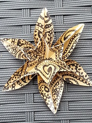 20170924_175813 (musitine) Tags: origami paper art flower sixpointed