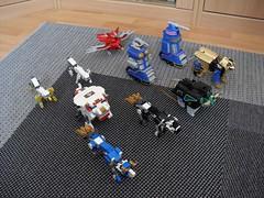 Jagiełł'oh vs Zeo Megazord (Śląski Hutas) Tags: lego bricks moc mech robo sentai power rangers poland polska action figure plastic animals