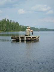 18-08-2017 Huronian - 6 (s.kosoris) Tags: skosoris pentaxoptiowg1 wg1 pentax huronian camp camping water lake fish bass dock