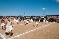 2017 Northeastern - Band Day (WayNet.org) Tags: northeasternhighschool northeasternwayne statefairbandday waynecounty marchingband statefair indiana indianapolis knights marioncounty nhs northeastern places band guard track
