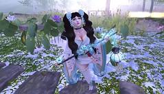 Lotus (Serena Reins) Tags: asian maitreya fantasy gacha catwa butterflies tiffany lotus scenic water garden