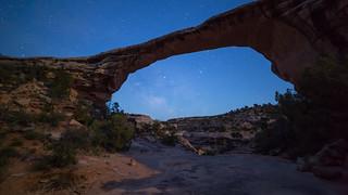 Natural Bridges - Blue Hour Ends & Night Begins