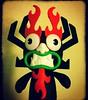 aku (Luckykatt) Tags: aku samuraijack aultswim kidrobot luckykatt mycollection urbanvinyltoy