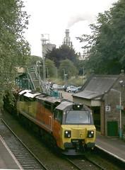 70804 reversing (kitmasterbloke) Tags: wrexham shropshire train railway locomotive transport uk outdoor