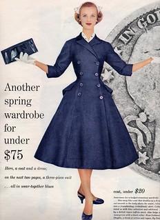 Seventeen editorial shot by Francesco Scavullo 1955