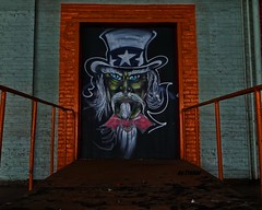 Uncle Sam (Trebor420) Tags: unclesam abandoned illinois chicago warehouse southside art graffiti explore urbex paint spraypaint
