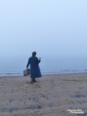 P1450034 (Christen Ann Photography) Tags: cosplay newt newtscamander fantasticbeasts harrypotter potterhead photography portrait beach fog weather auckland newzealand 2017 photoshoot cosplayphotoshoot mist potter magical