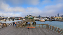 View from Pier 41 (Jemlnlx) Tags: canon eos 5d mark iv 4 5div 5d4 san francisco ca california ef 1635mm f4 is usm l fishermans wharf dock pier 41 coit tower tiffen graduated neutral density filter