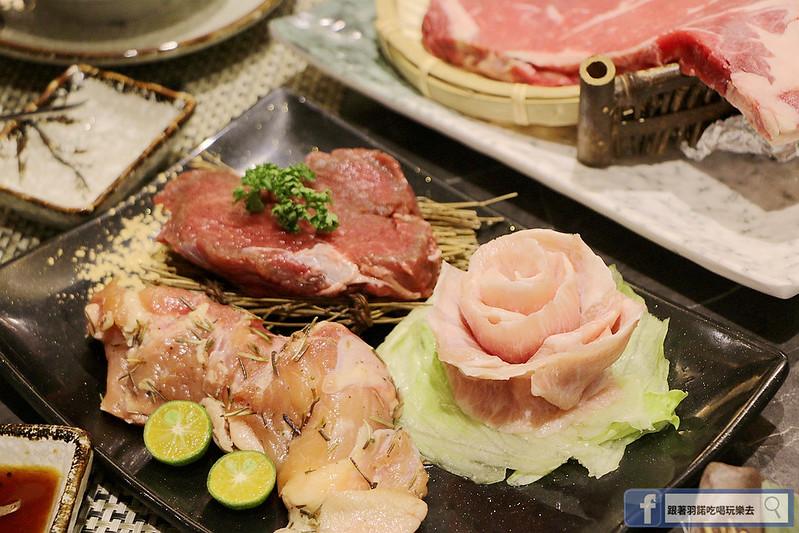 原月日式頂級帝王蟹吃到飽板橋燒烤吃060