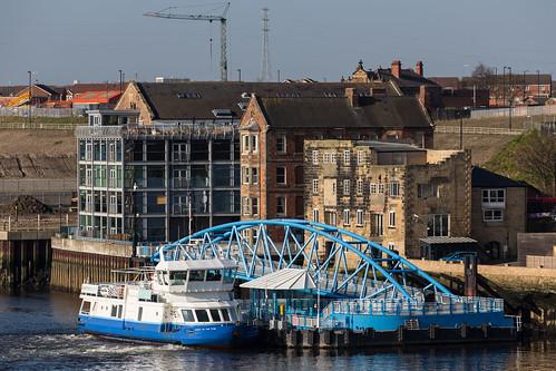 Newcastle, St Abbs Head en Glasgow – 8 april 2017
