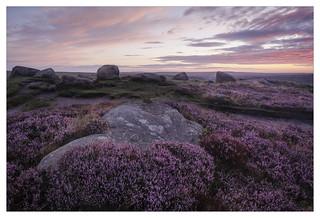Pre Sunrise colour at Higger Tor