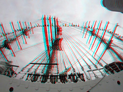 B.A.P. Union Peru 3D GoPro (wim hoppenbrouwers) Tags: anaglyph stereo redcyan wilhelminapier rotterdam bap union peru 3d gopro kopvanzuid