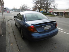 A long way from Erinwood... (joh3) Tags: fordtaurus ford fairlie southcanterbury southisland newzealand usa sel