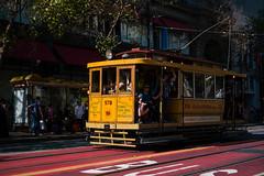 commemorated serenade (bhautik_joshi) Tags: downtown bhautikjoshi muni bayarea publictransport bus classic marketstreet historic california sanfrancisco sfist sf historicstreetcar midmarket thetenderloin soma unitedstates us