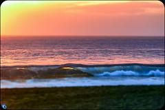 SunsetLine (bffpicturesworld) Tags: ocean beautiful sunset wave goldenhour blacksand volcanic beach bestplace line infinite wow reunionisland iledelareunion