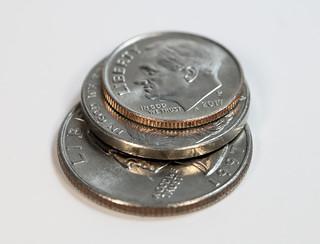 Coins  (High key)