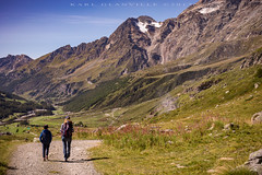 Show me the way (glank27) Tags: mother son guidance landscape nature mountains breuil cervinia route trekking karl glanville canon eos 5d mk iv ef 50mm f18ii italy valle daosta