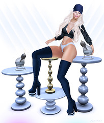 Como tú - Style1500 (Kayshla Aristocrat) Tags: latina rubia blonde truthhair candydoll rewind 88 fancydecor madpea suaveshapes blueberry luxebox kayshlaaristocrat blogger photography sl secondlife avatar