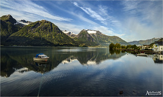 Morning in Hjelle, Norway