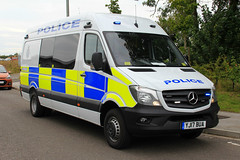 Humberside Police Brand New Mercedes Sprinter Public Order Van (PFB-999) Tags: humberside police brand new mercedes sprinter facelift public order van vehicle unit pov psu support light modules grilles sidelights leds yj17bua