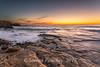 Goodbye Canon 6D (Steven Peachey) Tags: seascape sunrise morning 2017 beach rocks sky clouds sun northeastcoast northeastengland stevenpeachey canon6d ef1740mmf4l leefilters lee09gnd southshields trowrocks lightroom uk summer