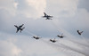 2017 JSOH Airshow (45) (maskirovka77) Tags: 2017 corsair f16s geicoskytypers jsoh jointserviceopenhouse thunderbirds aerobatics airshow heritageflight stuntflyers jointbaseandrews maryland unitedstates us