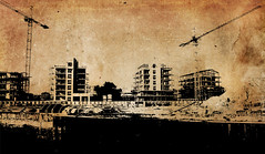 Building grunge (iansimpson17) Tags: grunge dirty old stained oldfashioned retrostyled damaged texturedeffect backgrounds textured scratched illustration distressed urbanscene antique abstract nopeople obsolete history city