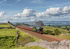 The Waverley Railtour 13-8-2017 (KS Railway Gallery) Tags: waverley flying scotsman railway steam uk greengates